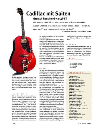 Gitarre & Bass Gretsch Rancher G-5034T-FT, E/A-Gitarre