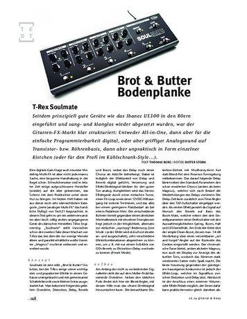Gitarre & Bass T-Rex Soulmate, Multi-FX