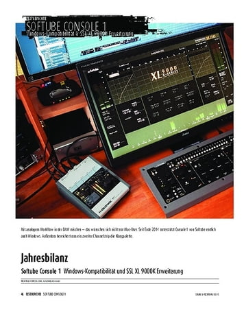 Sound & Recording Softube Console 1 - Windows-Kompatibilität und SSL XL 9000K Erweiterung