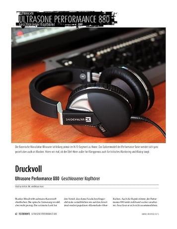 Sound & Recording Ultrasone Performance 880 - Geschlossener Kopfhörer