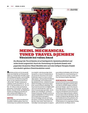 Sticks Meinl Mechanical Tuned Travel Djemben