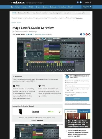 Image-Line Fl Studio Signature Bundle – Thomann UK
