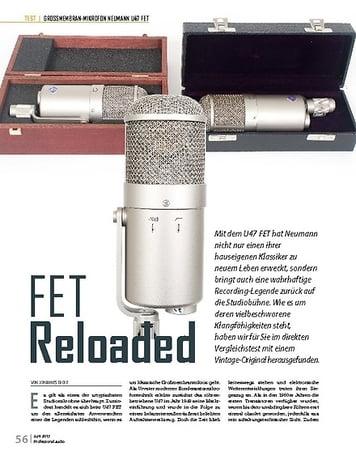 Professional Audio Neumann U47 FET