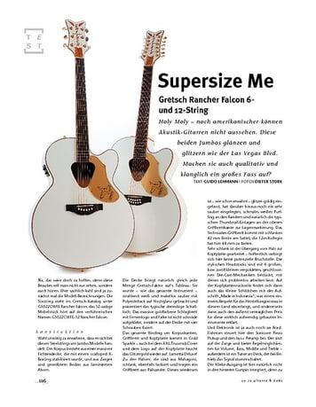 Gitarre & Bass Gretsch Rancher Falcon 6- und 12-String, A-Gitarren
