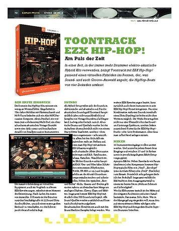 Sticks Toontrack EZX Hip-Hop!