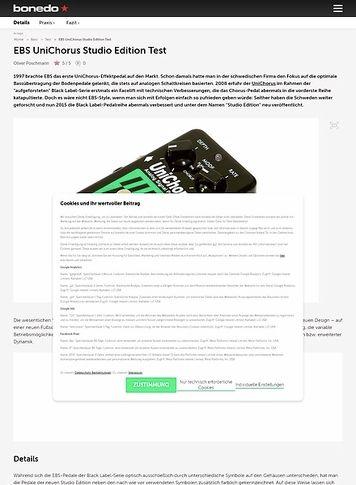 Bonedo.de EBS UniChorus Studio Edition