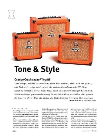 Gitarre & Bass Orange Crush 12/20RT/35RT, Gitarren-Combos