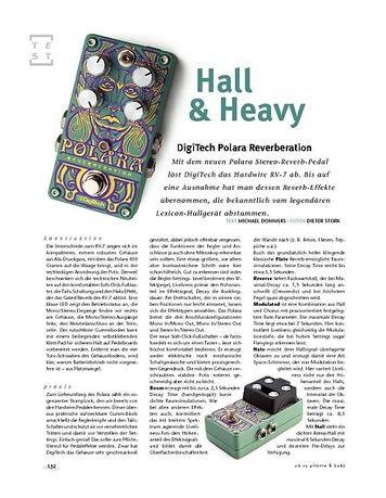 Gitarre & Bass DigiTech Polara Reverberation, FX-Pedal