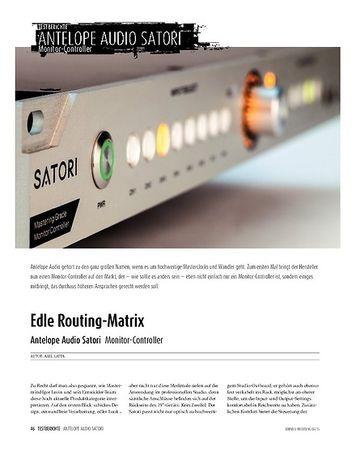 Sound & Recording Antelope Audio Satori - Monitor-Controller