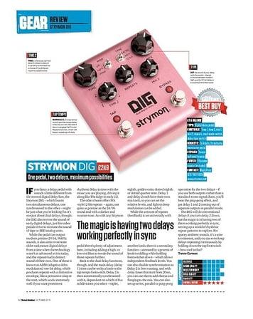 Total Guitar Strymon Dig