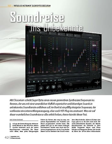 Professional Audio SUGAR BYTES OBSCURIUM