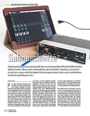 Professional Audio STEINBERG UR242