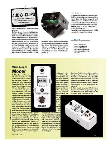 Gitarre & Bass Moeer Micro Looper
