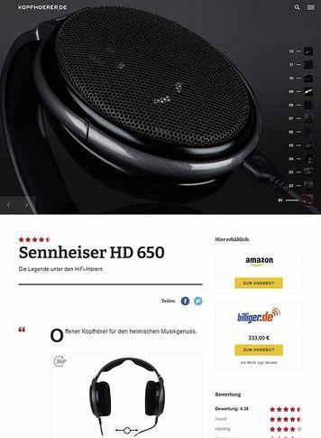 Kopfhoerer.de Sennheiser HD-650