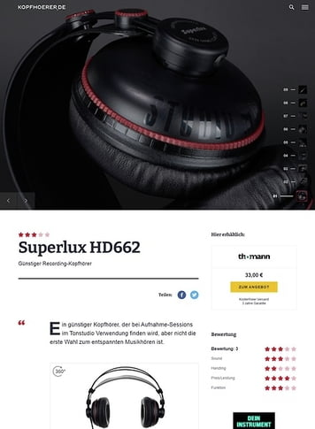 Kopfhoerer.de Superlux HD-662