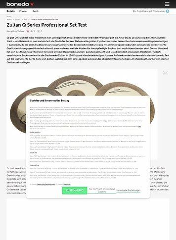 Bonedo.de Zultan Q Series Professional Set