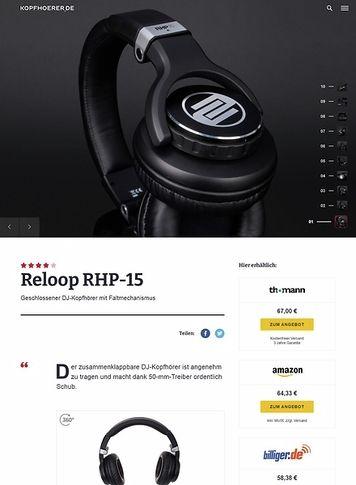 Kopfhoerer.de Reloop RHP-15