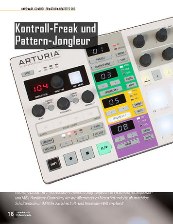 Professional Audio Arturia Beatstep Pro