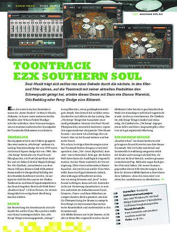 Sticks Toontrack EZX Southern Soul