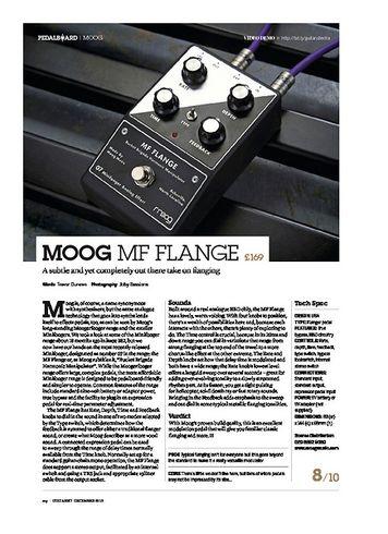 Guitarist Moog MF Flange