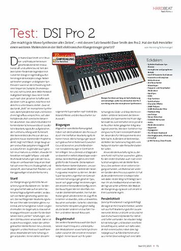 Beat Dave Smith Instruments Pro 2