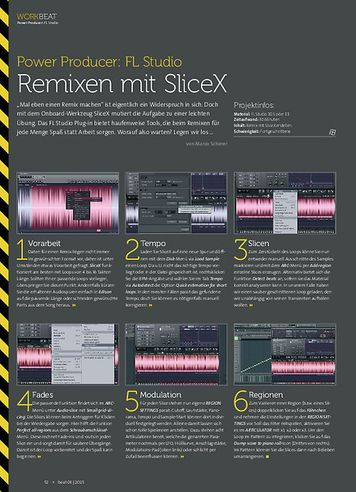 Beat FL Studio - Remixen mit SliceX