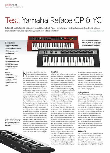 Beat Yamaha Reface CP & YC