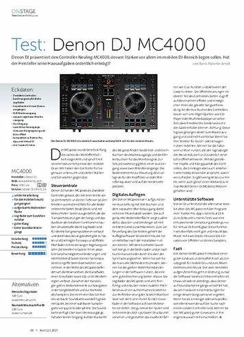 Beat Denon MC4000