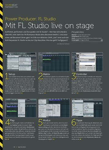 Beat FL Studio - Mit FL Studio live on stage