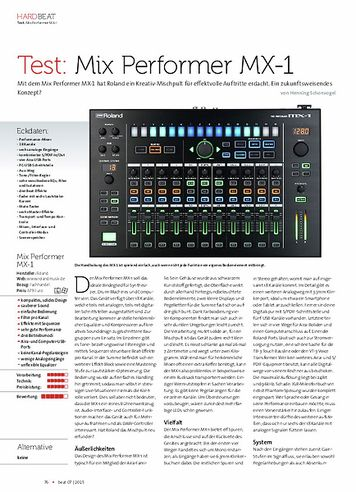 Beat Roland Mix Performer MX-1