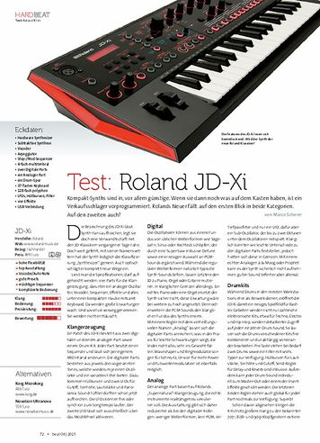 Beat Roland JD-Xi