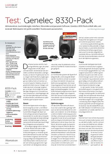 Beat Genelec 8330-Pack