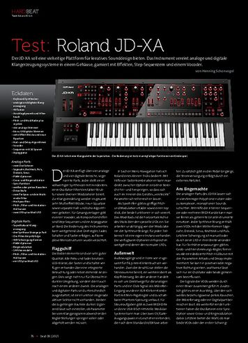 Beat Roland JD-XA