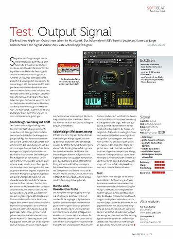 Beat Output Signal