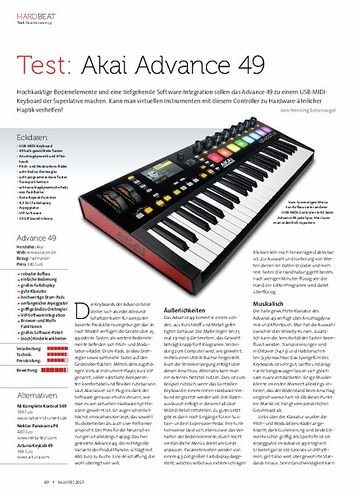 Beat Akai Advance 49