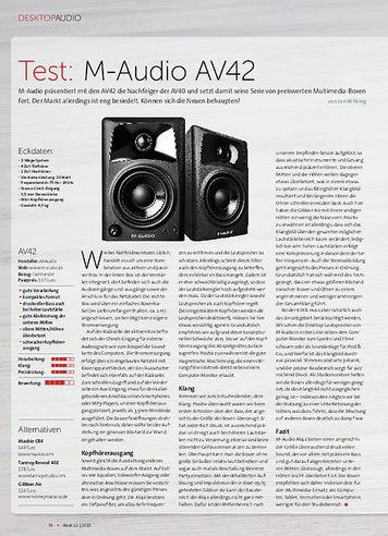 Beat M-Audio AV42