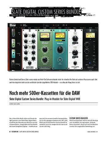 Slate Digital Custom Series Bundle – Musikhaus Thomann