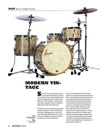 Sticks Sonor Vintage Drums