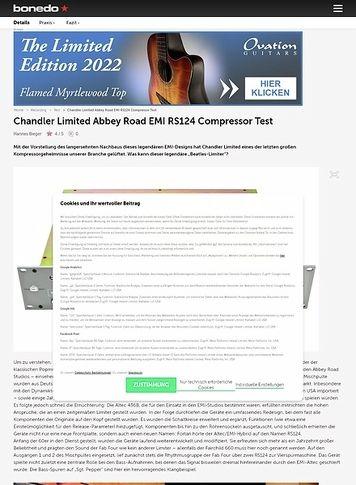 Bonedo.de Chandler Limited Abbey Road EMI RS124