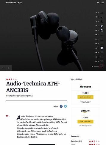 Kopfhoerer.de Audio-Technica ATH-ANC33IS