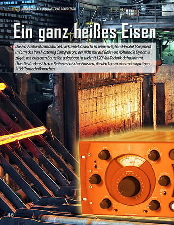 Professional Audio SPL Iron