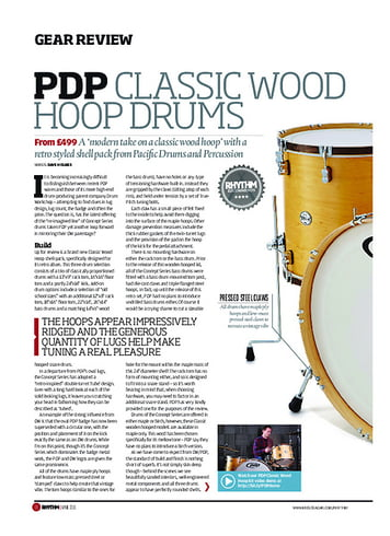 Rhythm PDP Classic Wood Hoop Drums