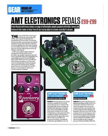 Total Guitar AMT Pedals