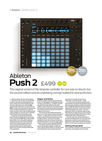 Computer Music Ableton Push 2