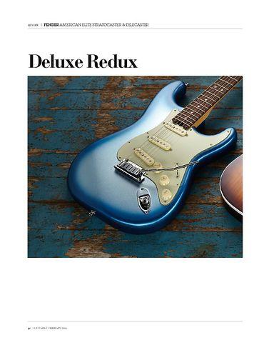 Guitarist Fender American Elite Telecaster