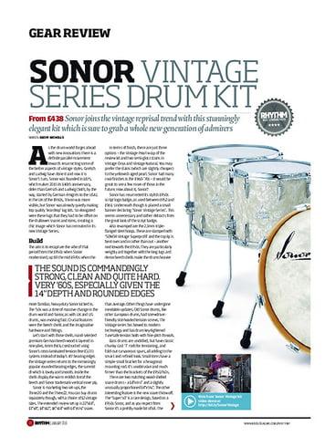 Rhythm Sonor Vintage Series Drum Kit
