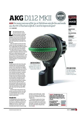 Rhythm AKG D112 MKII