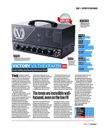 Total Guitar Victory VX The Kraken
