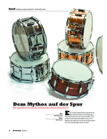 Sticks Ludwig Supra-Phonic Snaredrums