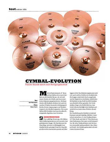 Sticks Sabian B8X Cymbals